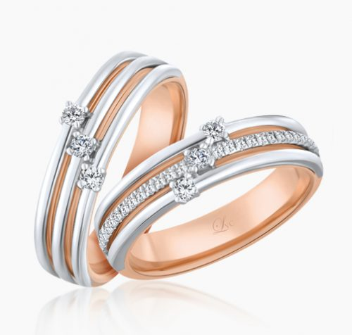 667, LVC Alegria, wedding bands, wedding rings, love couple rings