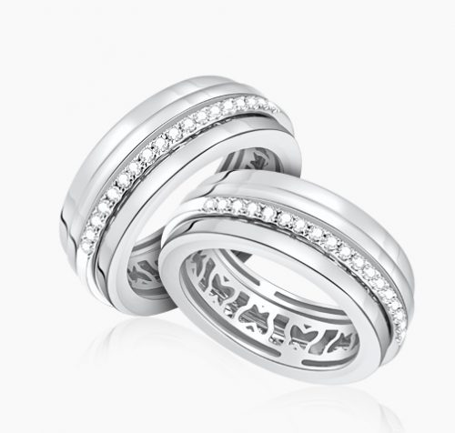 LVC aqueen, wedding bands, wedding rings, love bands ring