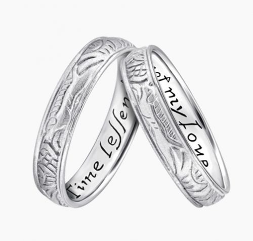 LVC poesie, wedding bands, wedding rings, love bands ring